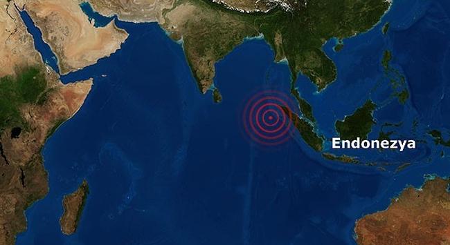 Endonezya 6,5 büyüklüğünde depremle sarsıldı