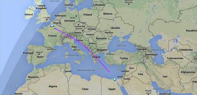 Kayıp uçaktan sinyal alındı