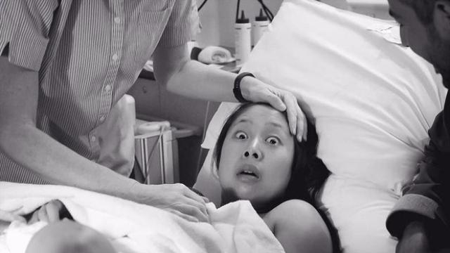 Çocuğu erkek doğunca şaşıran annenin ifadesi viral oldu