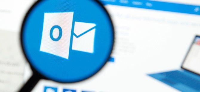 Outlook ve Hotmail'de büyük sorun!