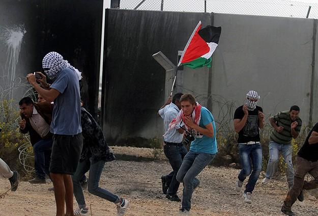 Gazze'de Balfour Deklarasyonu karşıtı gösteriler