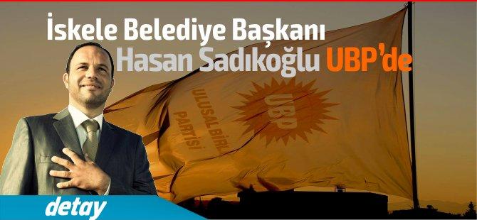 Hasan Sadıkoğlu'na UBP Rozeti, O artık  resmen UBP'li