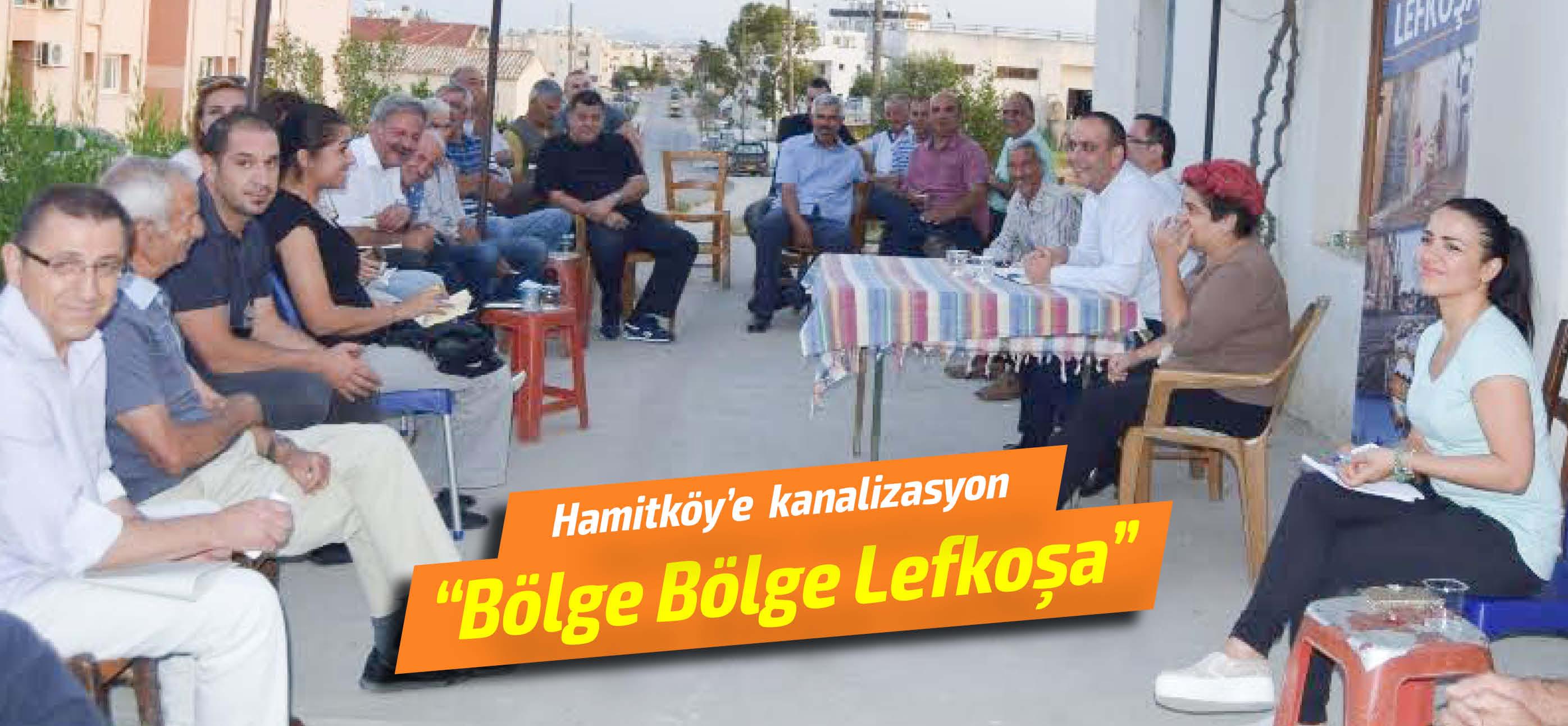 Hamitköy'de yeni kanalizasyon atağı