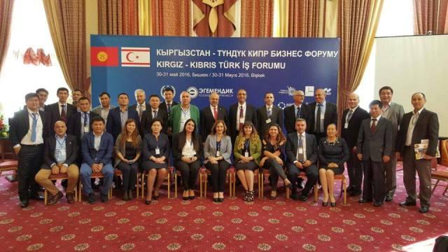 Kırgızistan'ın başkentinde KKTC anlatıldı