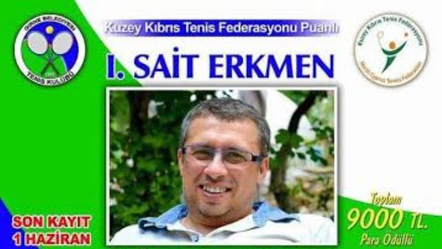 Girne'de tenis heyecanı!