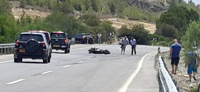 Ölümlü motor kazasının detayları