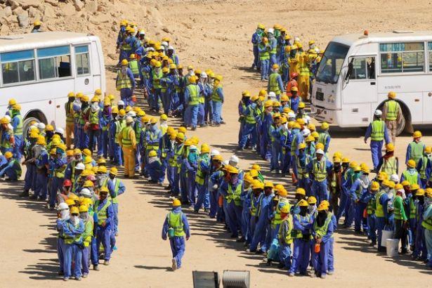 Katar nüfusunun %60'ı 'çalışma kamplarında' yaşıyor