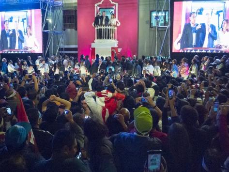 Peru devlet başkanını seçti