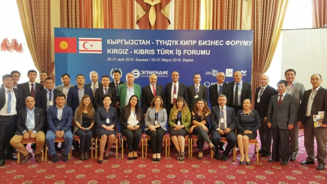 Kıbrıs Türk-Kırgız İş Forumu yapıldı