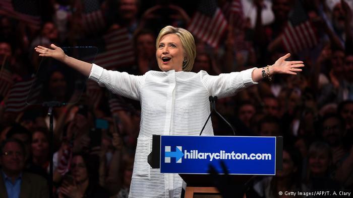 Clinton'dan zafer ilanı