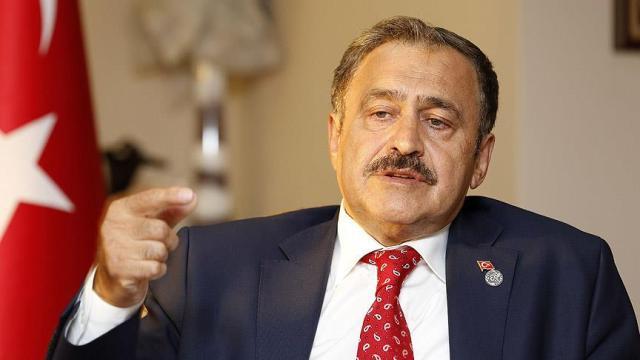 Ataoğlu, TC Orman ve Su İşleri Bakanı Veysel Eroğlu ile görüştü