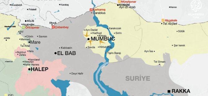 Çatışmalar Mumbuc sınırında