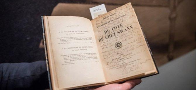 Proust arşivi 1,3 milyon dolara satıldı