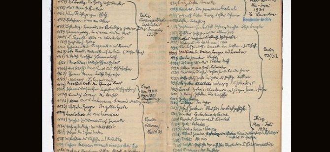 Kitap önerisi arayanlar; işte Walter Benjamin'in okuma listesi