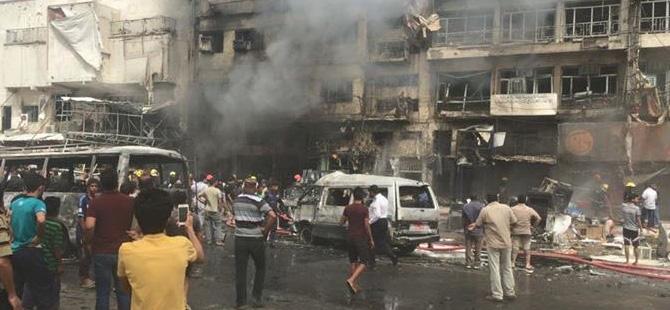 Son dakika: Bağdat'da patlama, en az 8 kişi hayatını kaybetti