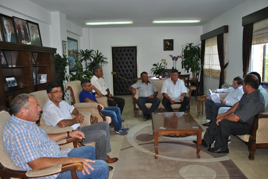 Taşeronlar Birliği, Denktaş'dan destek istedi