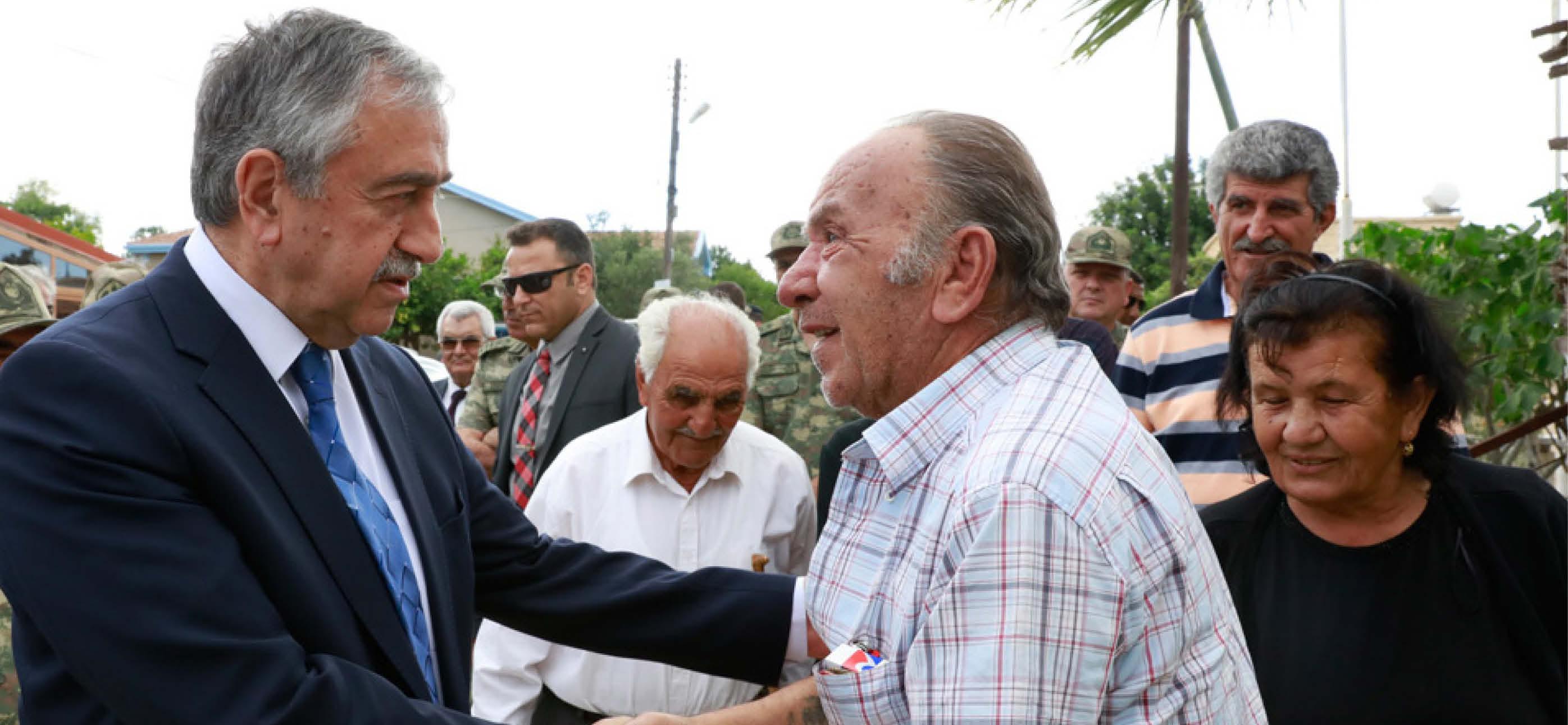 Akıncı, Maronit köylerini ziyaret etti