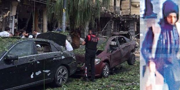 İşte Vezneciler bombacısının saldırıdan önceki görüntüleri