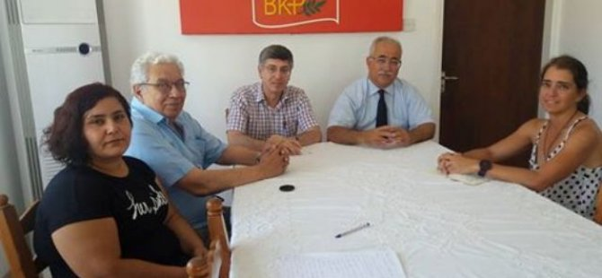 Türkiye Komünist Partisi'nden BKP ziyareti