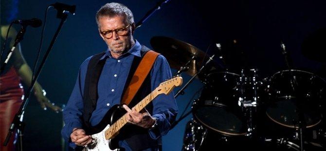 Eric Clapton artık gitar çalamıyor