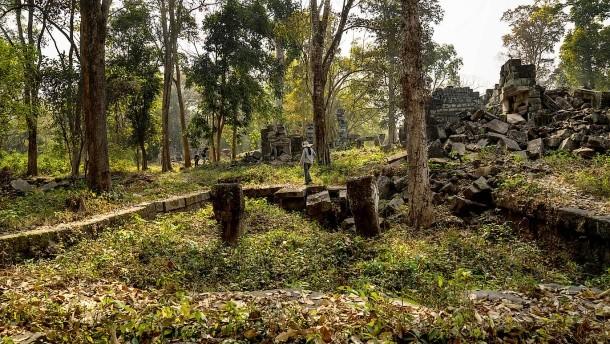 Kamboçya'da toprak altında şehirler bulundu