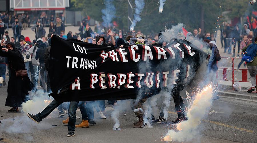 Sendikalardan Fransa'daki eylemlere destek