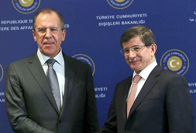 """Davutoğlu ile Lavrov """"Cenevre""""yi görüştü"""