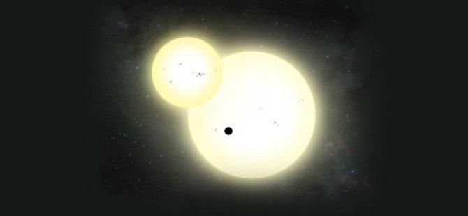 'Yaşama elverişli bölge' içinde yer alan devasa gezegen bulundudu