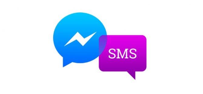 Facebook şimdi de SMS' el attı!