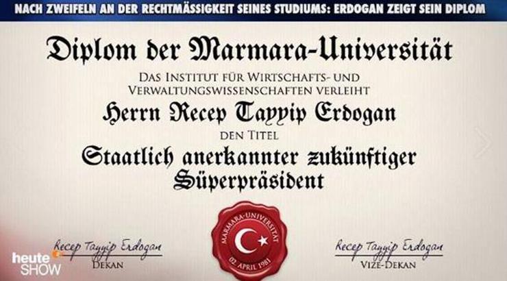 Geleceğin sertifikalı süper başkanı