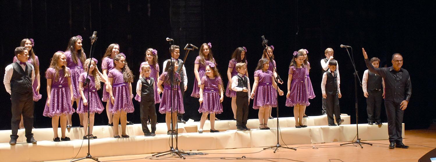 DAÜ-SEM Ada Işığı Çocuk Korosu konser veriyor