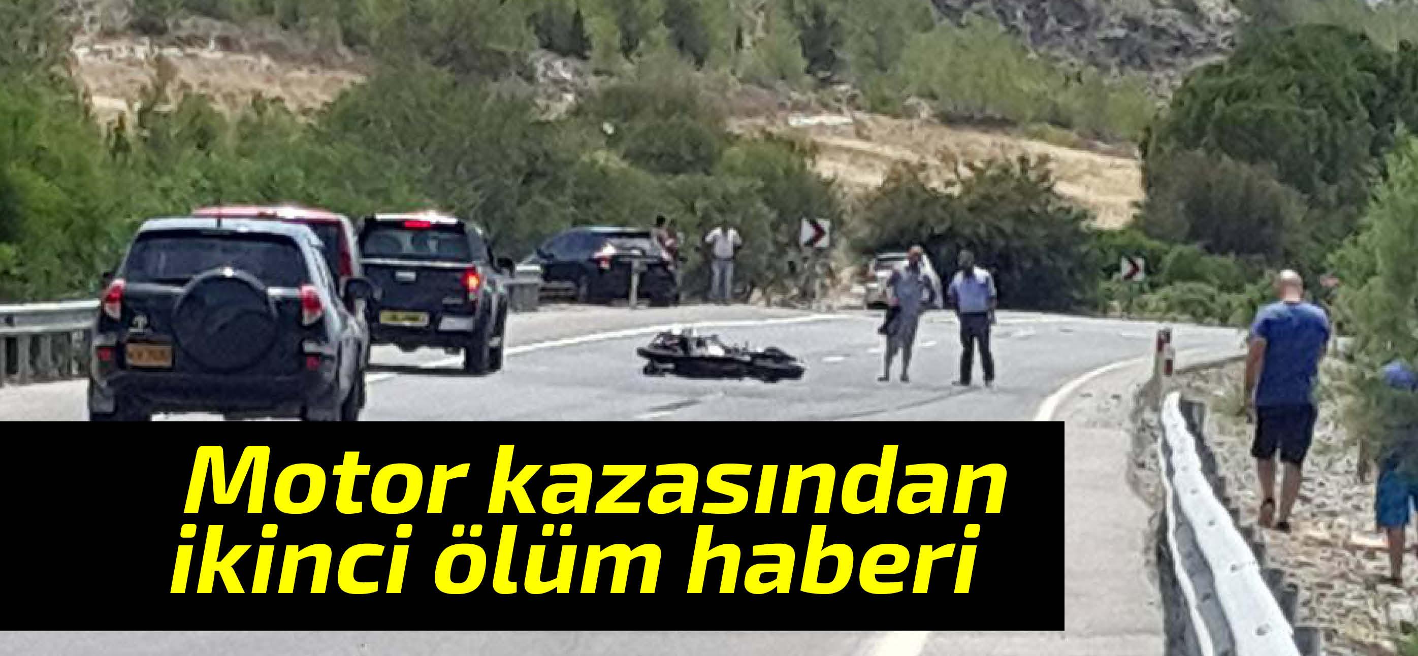Motorsiklet kazasında ağır yaralanan sürücü hayatını kaybetti