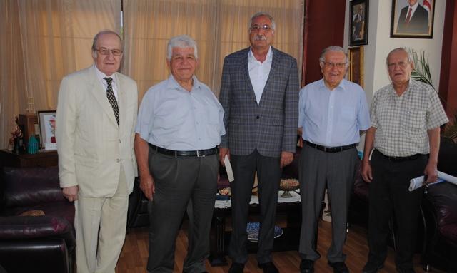 M. Necati Özkan Vakfı'ndan Güngördü'ye ziyaret