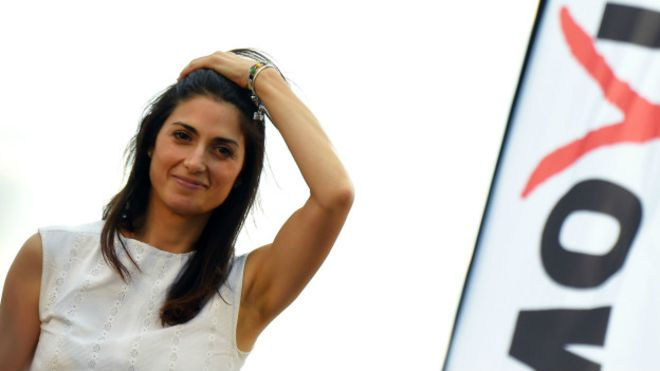 Roma ilk kadın belediye başkanına hazırlanıyor