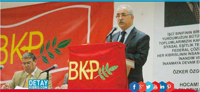 BKP'de İzcan yine başkan
