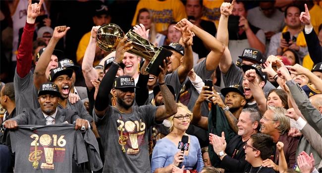 NBA Şampiyonu Cavaliers