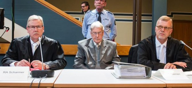 94 yaşındaki Nazi'ye beş yıl hapis cezası