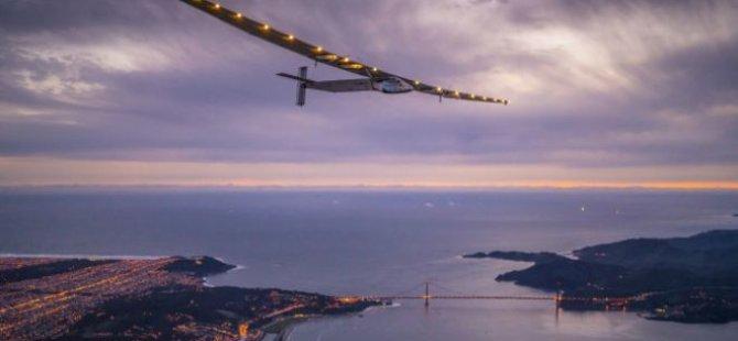 Solar Impulse 90 saatte Atlas Okyanusu'nu geçecek