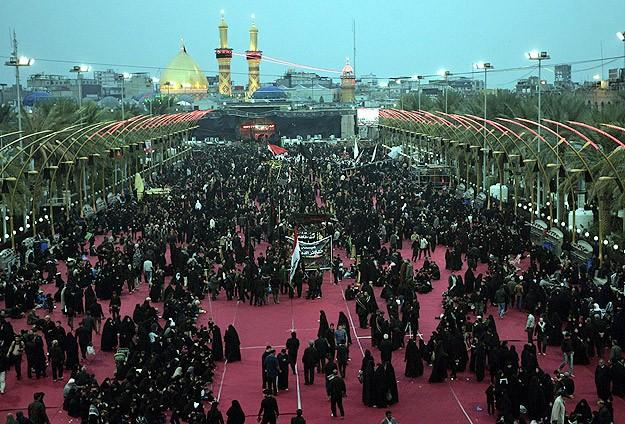 Irak'ta Şiiler törenler için tarihi kentlere akın ediyor