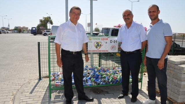 """""""Teneke Çocuk """" projesinde Değirmenlik Belediyesi YBH işbirliği"""