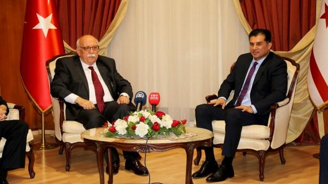 Başbakan Özgürgün, TC Kültür ve Turizm Bakanı Avcı ile görüştü