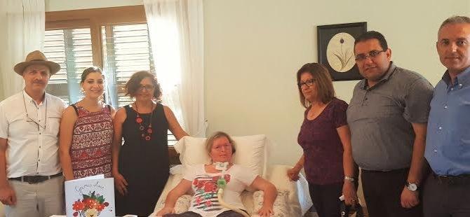 Hastanın Sesi proje ekibinden ALS hastasına ziyaret