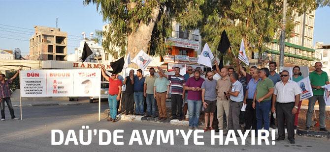 AVM inşaatının durdurulması için eylem!