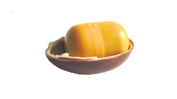 Sürpriz yumurtaya 'obezite' yasağı
