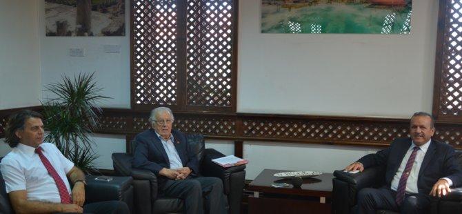 Turizm ve Çevre Bakanı Ataoğlu, Çekova yetkilileriyle görüştü