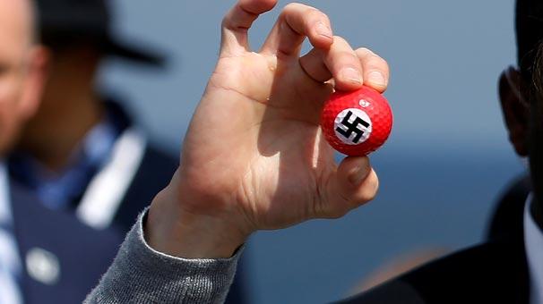 Donald Trump'a Nazi protestosu