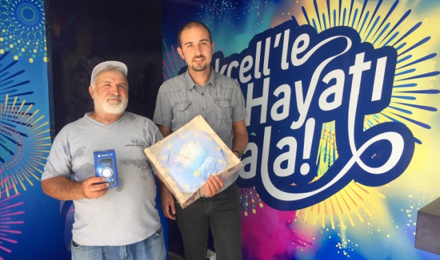 """""""Turkcell Teknoloji Tırı"""" her köye teknoloji taşıyor"""