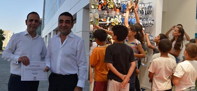 İzmirli  iş insanından LTB Haspolat Spor Okulu üyelerine destek