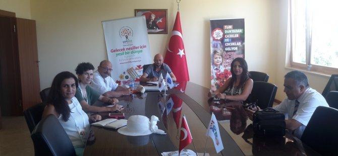 """EXPO 2016 Antalya'da açılacak """"Kıbrıs Evi""""nin çalışmaları sürüyor..."""