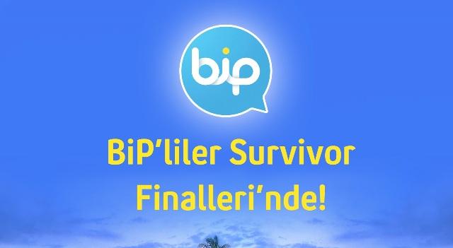 BiP kullanıcıları 'Survivor'  finallerine tanıklık edecek